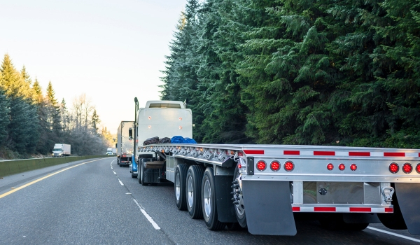Flat Bed Transportation Logistics | Red Arrow Logistics